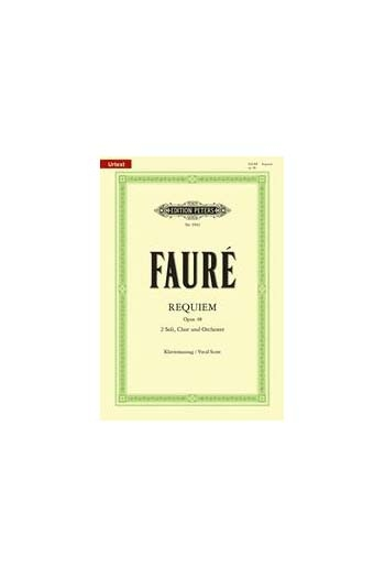 Sticky Notes - Faure Requiem