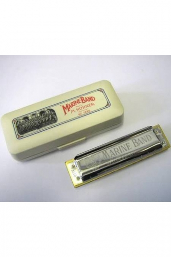Hohner Marine Band Crossover: G Major Diatonic Harmonica