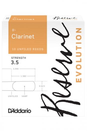 Daddario Reserve Evolution  Clarinet Reeds