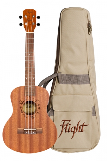Flight: NUT310 Tenor Ukulele - Sapele (With Bag)
