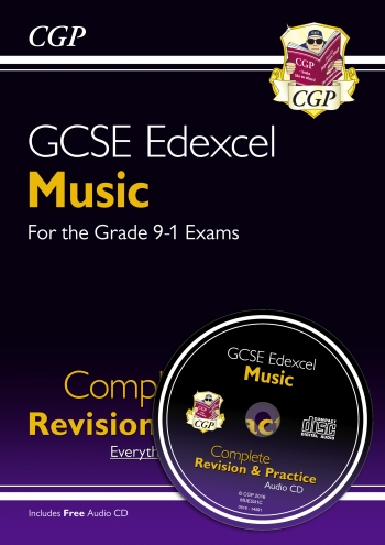 New GCSE Music Edexcel Complete Revision & Practice (with Audio CD) - For The Grade 9-1 Co