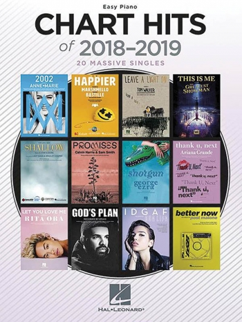 Chart Hits Of 2018-2019 Easy Pian