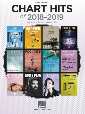 Chart Hits Of 2018-2019: Easy Guitar