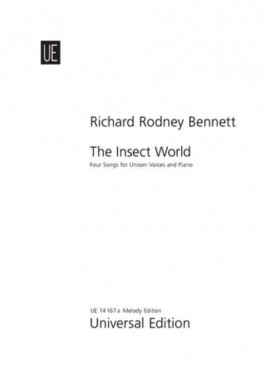 The Insect World : Vocal For Unison Choir And Piano (10 Copies)