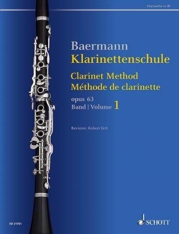 Clarinet Method Band 1: No. 1-33 (Schott)