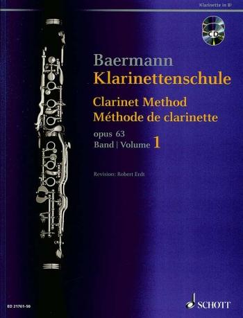 Clarinet Method Band 1: No. 1-33 Book & 2 CDs (Schott)
