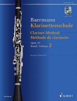 Clarinet Method Band 2: No. 34-52 Book & 2 CDs (Schott)