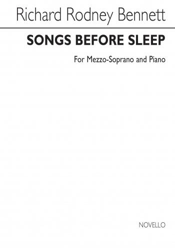 Songs Before Sleep: Mezzo-Soprano: Vocal & Piano (Archive)