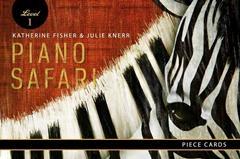 Piano Safari: Piece Cards 1