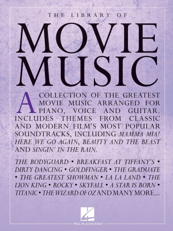 The Library Of Movie Music: Piano Vocal & Guitar Chords