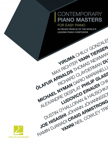 Contemporary Piano Masters: Easy Piano Solo