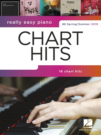 Really Easy Piano: Chart Hits Vol. 8 (Spring/Summer 2019)