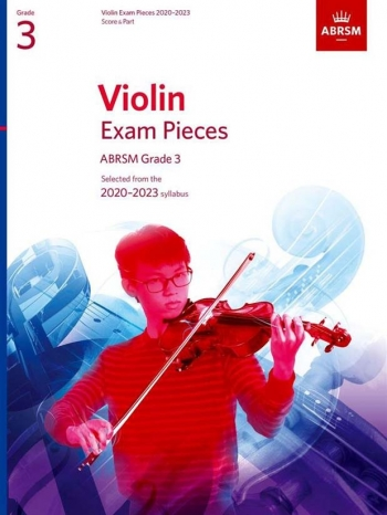 ABRSM Violin Exam Pieces Grade 3 2020-2023: Violin And Piano