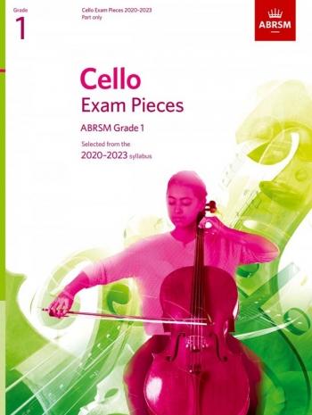 ABRSM Cello Exam Pieces Grade 1 2020-2023: Cello Part