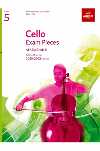 ABRSM Cello Exam Pieces Grade 5 2020-2023: Cello And Piano