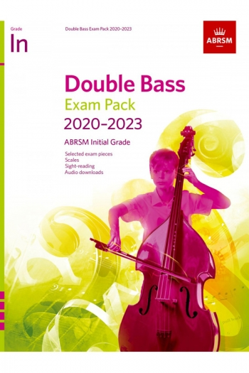 ABRSM Double Bass Exam Pack Initial 2020-2023: Pieces Scales Sight-Reading & Download