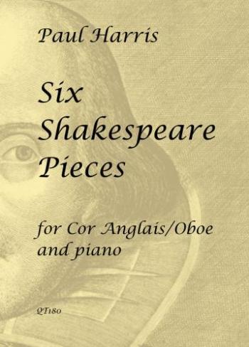 Six Shakespeare Pieces: Cor Anglais/Oboe & Piano