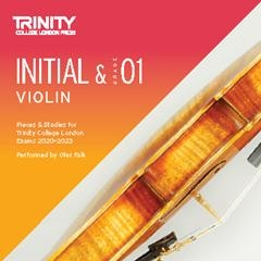 Trinity College London Violin Exam Pieces Initial & Grade 1 Violin Cd Only 2020-2023