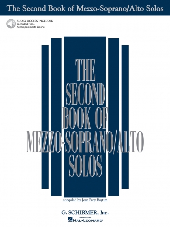 The Second Book Of Mezzo: Soprano/Alto Solos: Book With Audio-Online