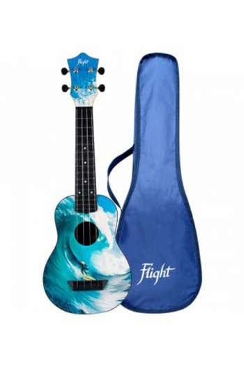 Flight TUS25SURF Travel Ukulele ABS Soprano – Surf