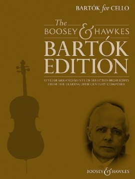 Bartók For Cello: Cello & Piano: Book & CD