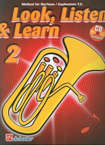 Look Listen & Learn 2 Euphonium & Baritone Treble Clef: Book & Cd (sparke)