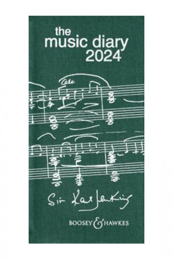 Boosey & Hawkes Music Diary 2022 Green