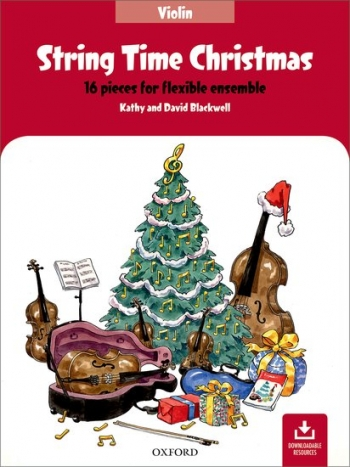 String Time Christmas: Violin Part: 16 Pieces For Flexible Ensemble  (Blackwell)