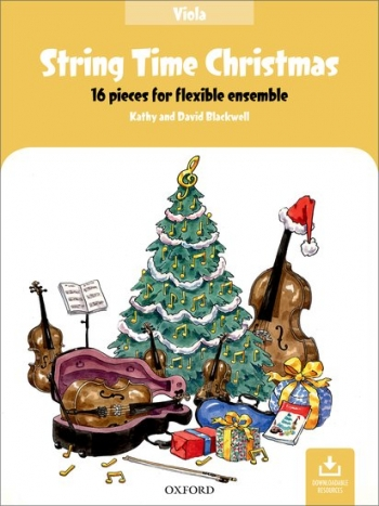 String Time Christmas: Viola Part: 16 Pieces For Flexible Ensemble  (Blackwell)