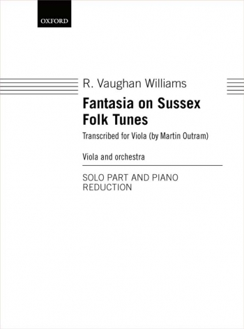 Fantasia On Sussex Folk Tunes Viola & Piano