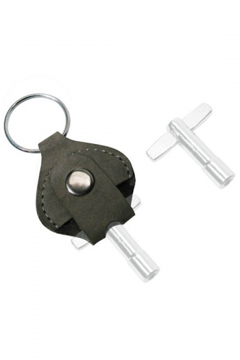 Drum KeyHolder - Leather Keyring (No Drum Key)