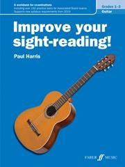 Improve Your Sight-Reading Grade 1-3: Guitar (harris)