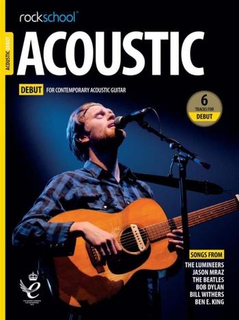 Rockschool Acoustic Debut 2019 Book With Audio-Online