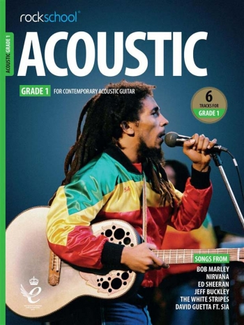 Rockschool Acoustic Guitar Grade 1 2019 Book With Audio-Online