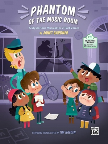 Phantom Of The Music Room: A Musical For 2-Part Voices, Book & Online PDF
