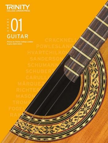 Trinity College London Classical Guitar Exam Pieces Grade 1 2020-2023