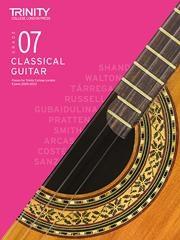 Trinity College London Guitar Exam Pieces Grade 7 2020-2023