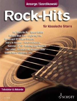 Rock-Hits: 25 Popular Songs Including Tablature & Chords