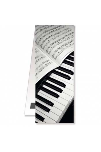Magnetic Bookmark - Piano/Sheet Music