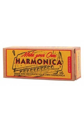 Make Your Own Harmonica Kit By Kikkerland