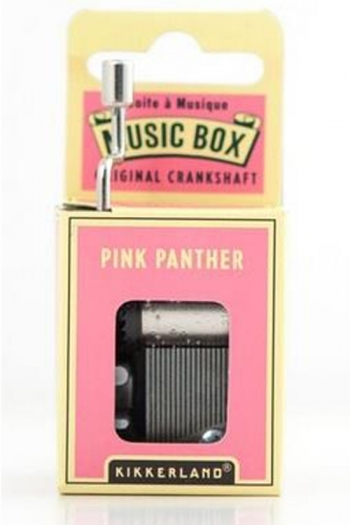 Hand Crank Music Box: Pink Panther