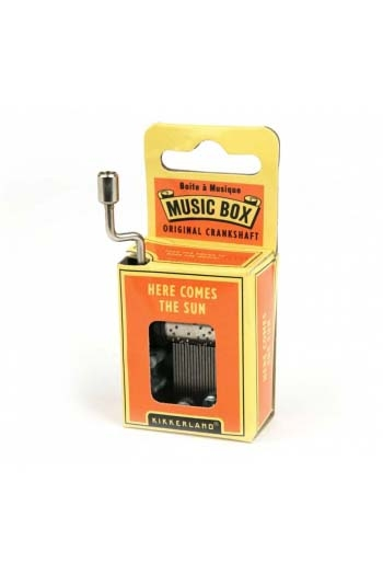 Hand Crank Music Box: The Beatles - Here Comes The Sun