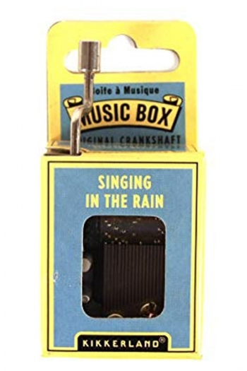 Hand Crank Music Box: Singing In The Rain