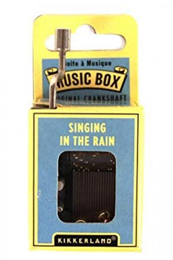Hand Crank Music Box: Singing In The Rain