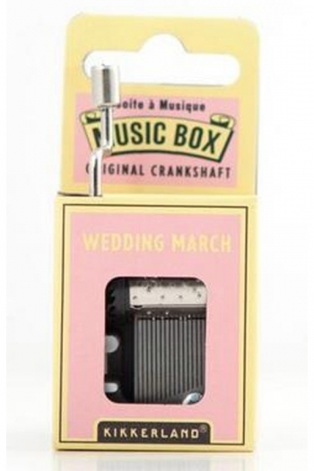 Hand Crank Music Box: Wedding March