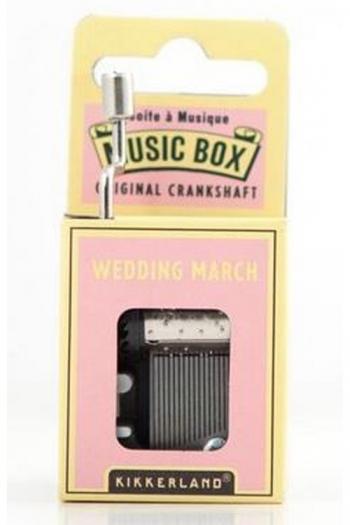 Hand Crank Music Box: Wedding March