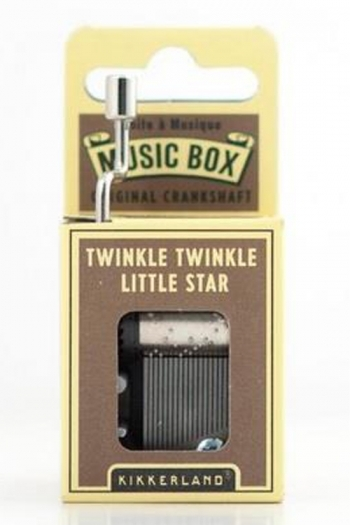 Hand Crank Music Box: Twinkle Twinkle Little Star