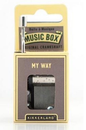Hand Crank Music Box: My Way