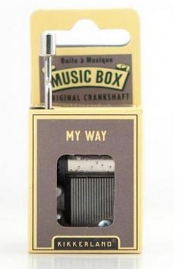 Hand Crank Music Box: My Way