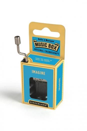 Hand Crank Music Box: John Lennon - Imagine
